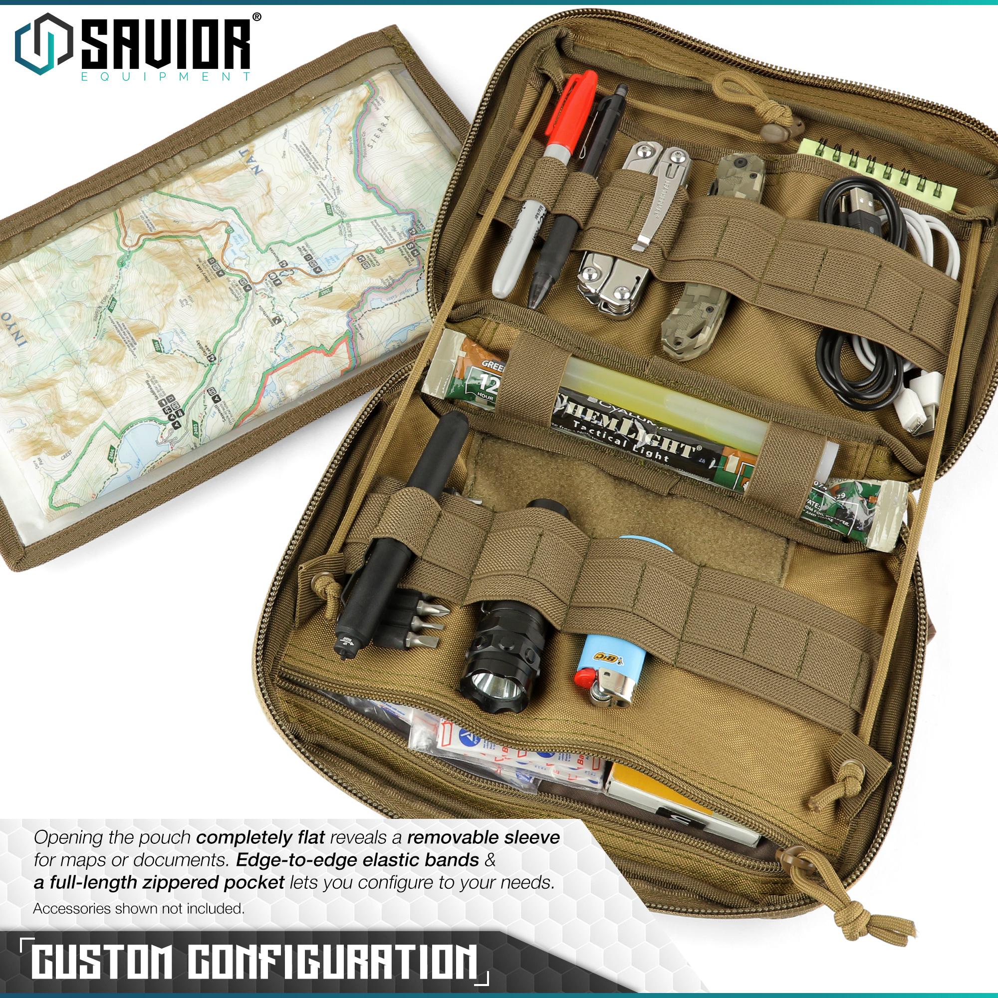 SAVIOR-Laser-Cut-MOLLE-Admin-Utility-EDC-Pouch-Tactical-Outdoor-Survival-Bag thumbnail 10