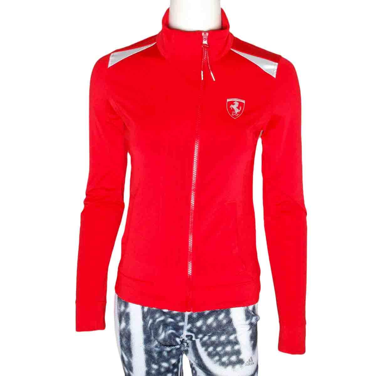 puma ferrari womens track jacket size uk 6 ebay. Black Bedroom Furniture Sets. Home Design Ideas