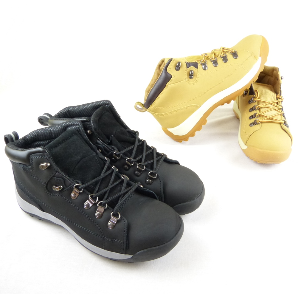 e195380106d Safety Work Boots Steel Toe Cap Mens Boots Brown Or Black Colour All Sizes