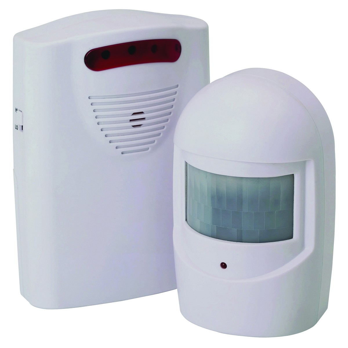 Driveway Alarm Wireless Pir Motion Sensor No Wiring Based Security System Required