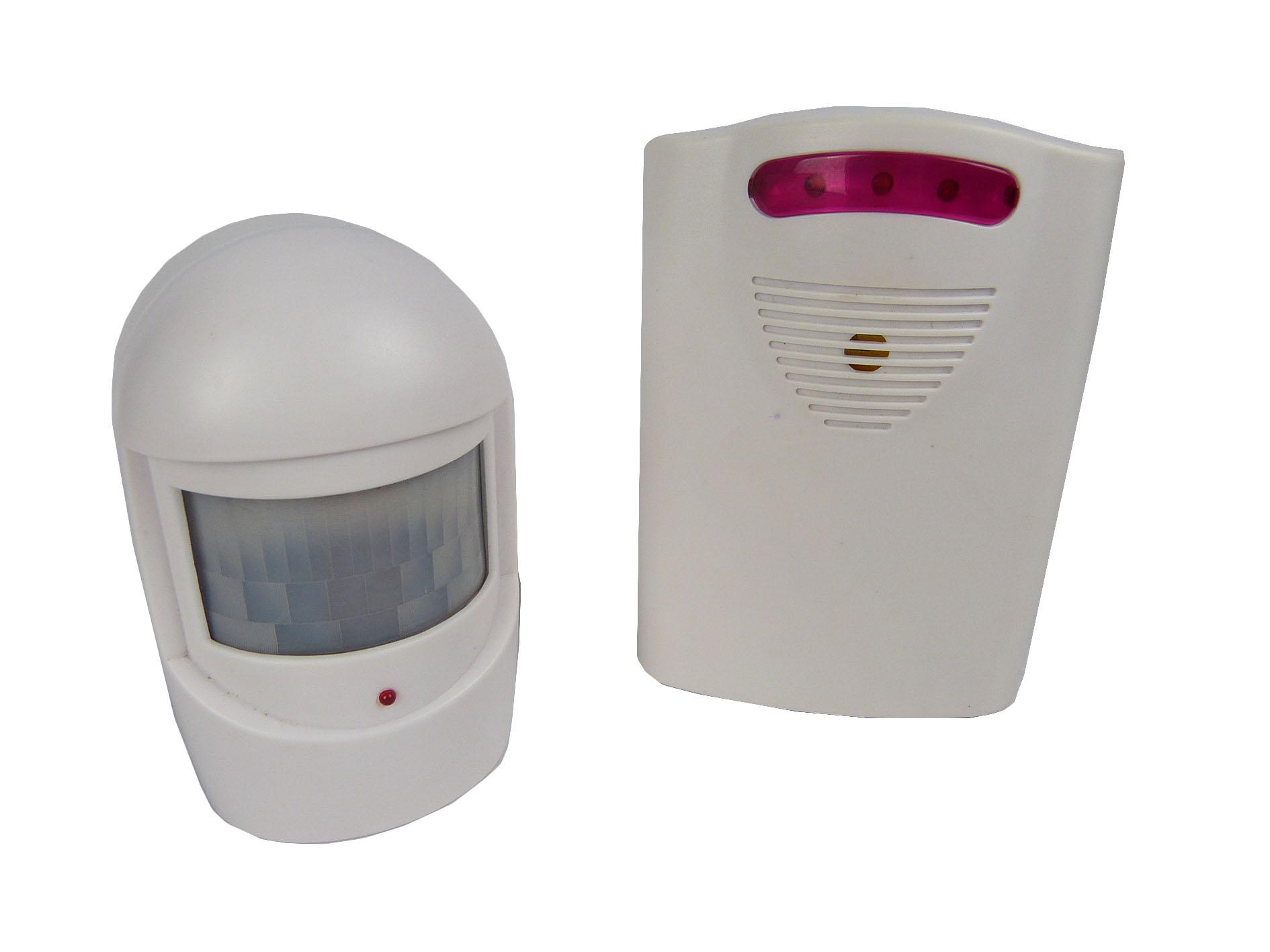 driveway alarm wireless pir motion sensor alarm