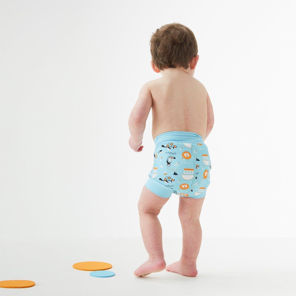 Splash-About-Happy-Nappy-Baby-amp-Toddler-Swimwear-Nappy-and-Shorts-Sun-Safe thumbnail 25