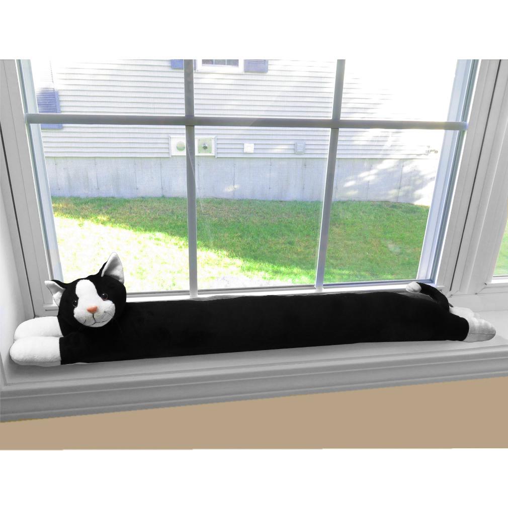 Evelots Cat Dog Door Window Draft Stopper 38 Quot No Noise