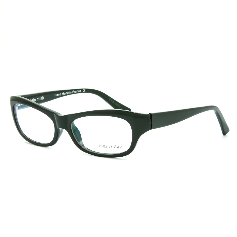0e2269cca2 Alain Mikli Eyeglasses AL 1010 0007 Green Frame   RX Clear .