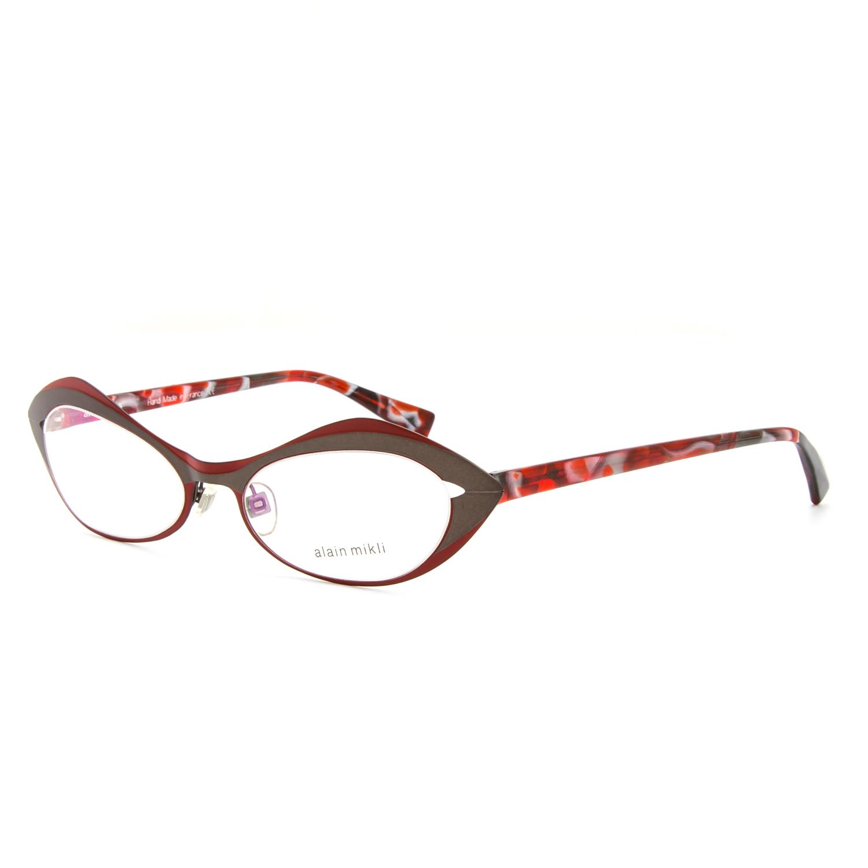 cdc2dcd005 Alain Mikli AL 1114 Eyeglasses 0006 Dressed Up Red Pearl .