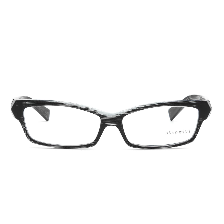6aa33c554b Alain Mikli AL 1026 Eyeglasses 0006 Black Striped Frame .