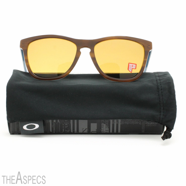 4932ad85dd ... Oakley Frogskins LX Sunglasses OO2043-03 Tortoise Blue   Bronze  Polarized Lens ...