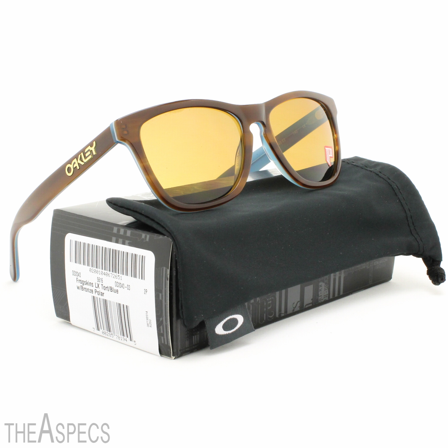 7462a3047d ... Tortoise Blue   Bronze Polarized Lens The latest look from a family  that began with our very first dual-lens shades oakley frogskin lx ...