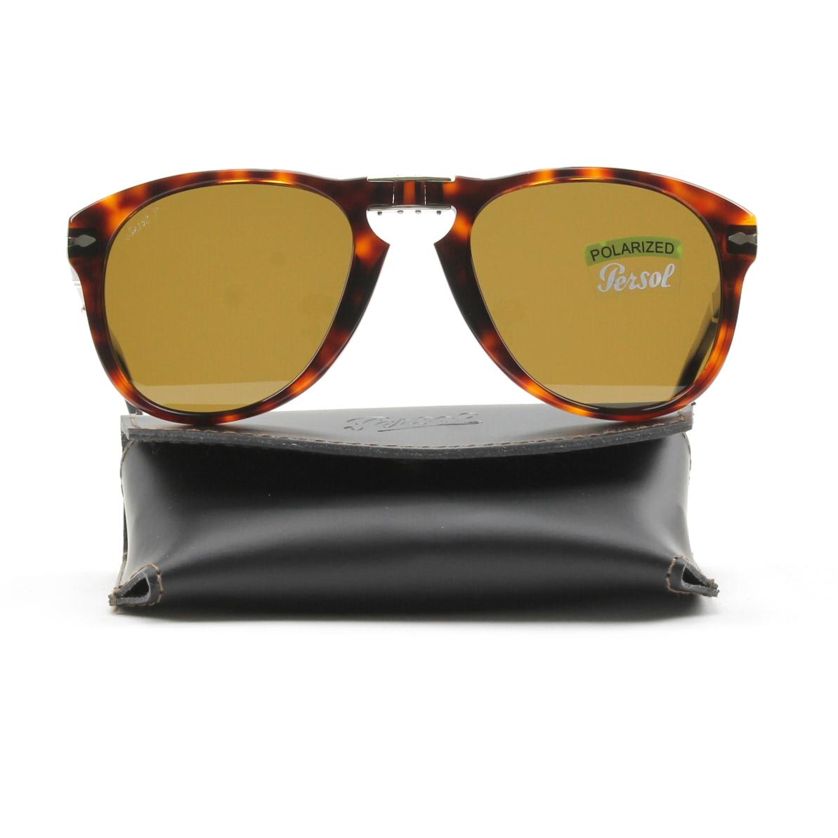 a6d05e70c1 Persol 714 Folding Sunglasses 24 57 Havana