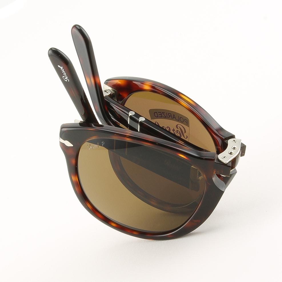 c4b6a3dc581 Persol 714 Folding Sunglasses 24 57 Havana