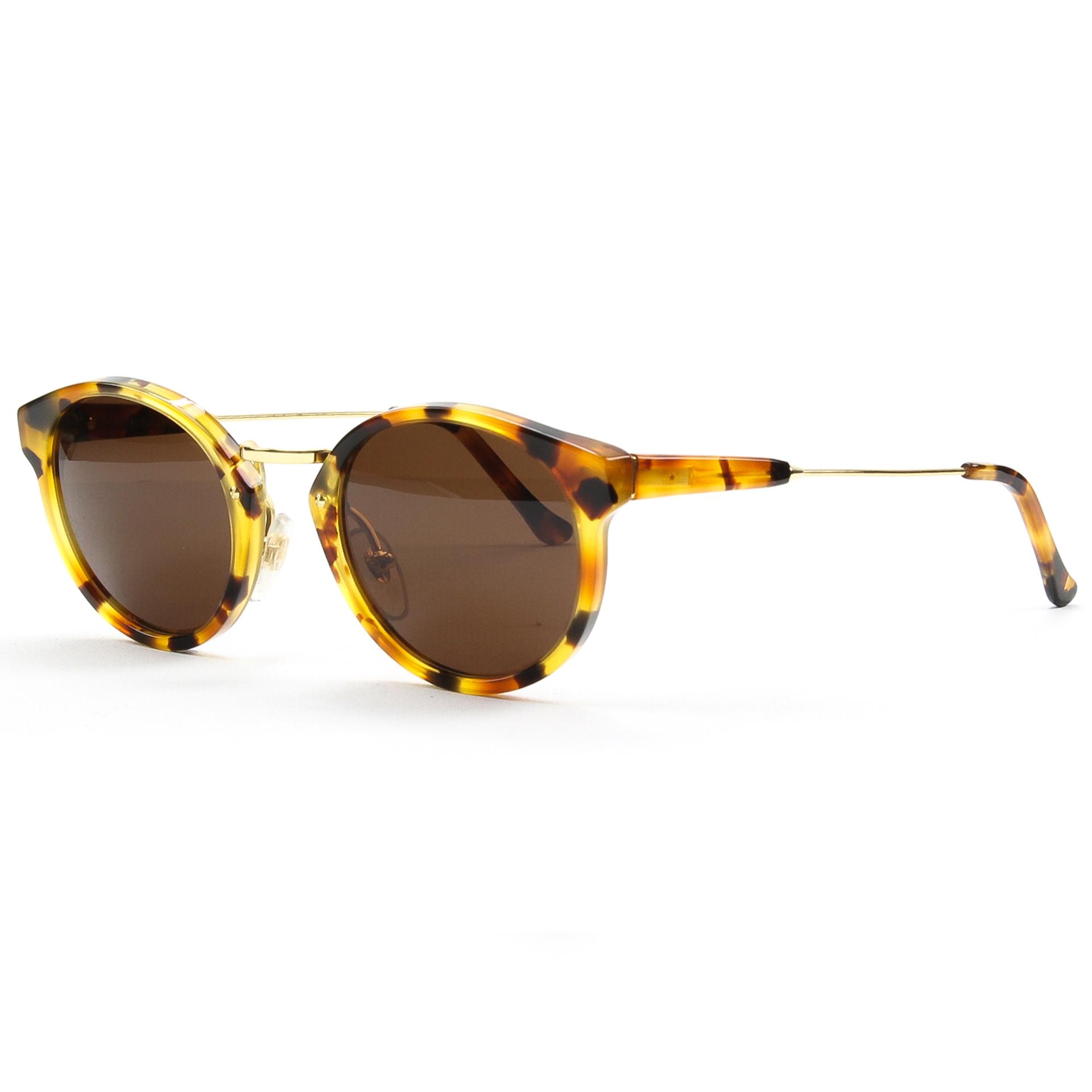eec1a610a76a RETROSUPERFUTURE Super Panama Sunglasses SU476 Dark Havana Brown Tortoise  Zeiss