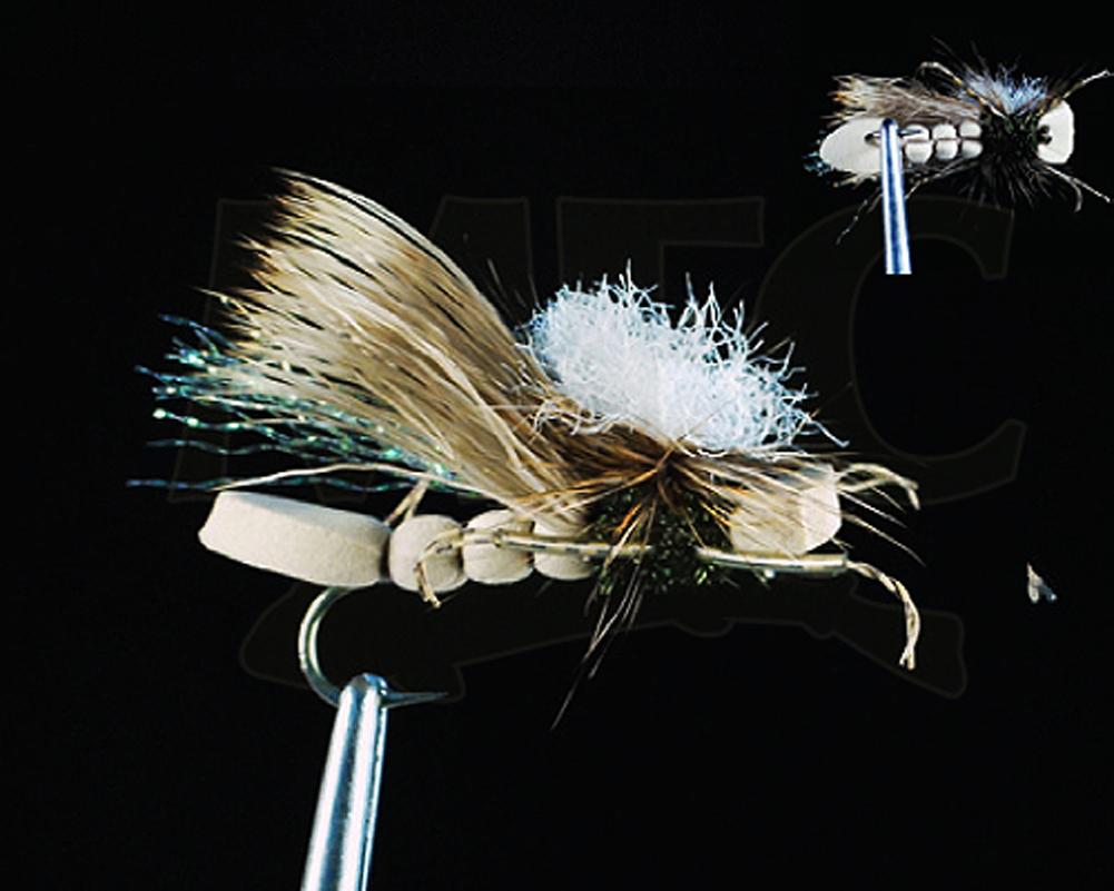 1//2 DOZ Montana Fly Company Swisher/'s PMX Olive #14