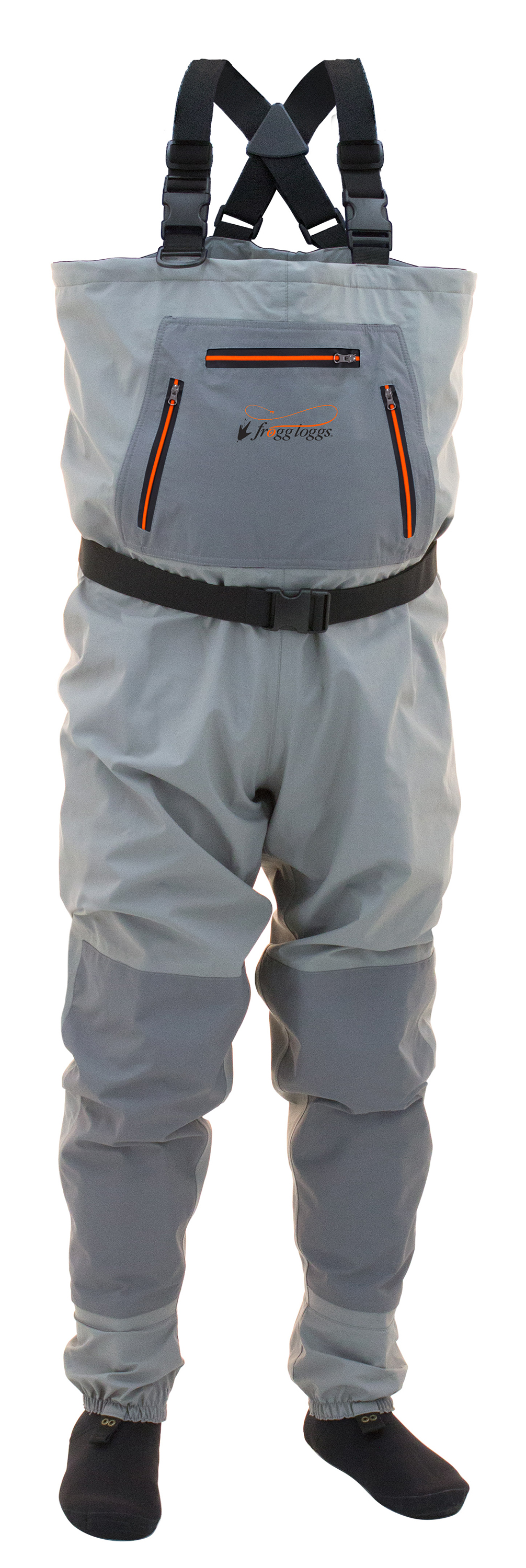 Frogg Toggs Hellbender Youth Stockingfoot Chest Waders | Large thumbnail