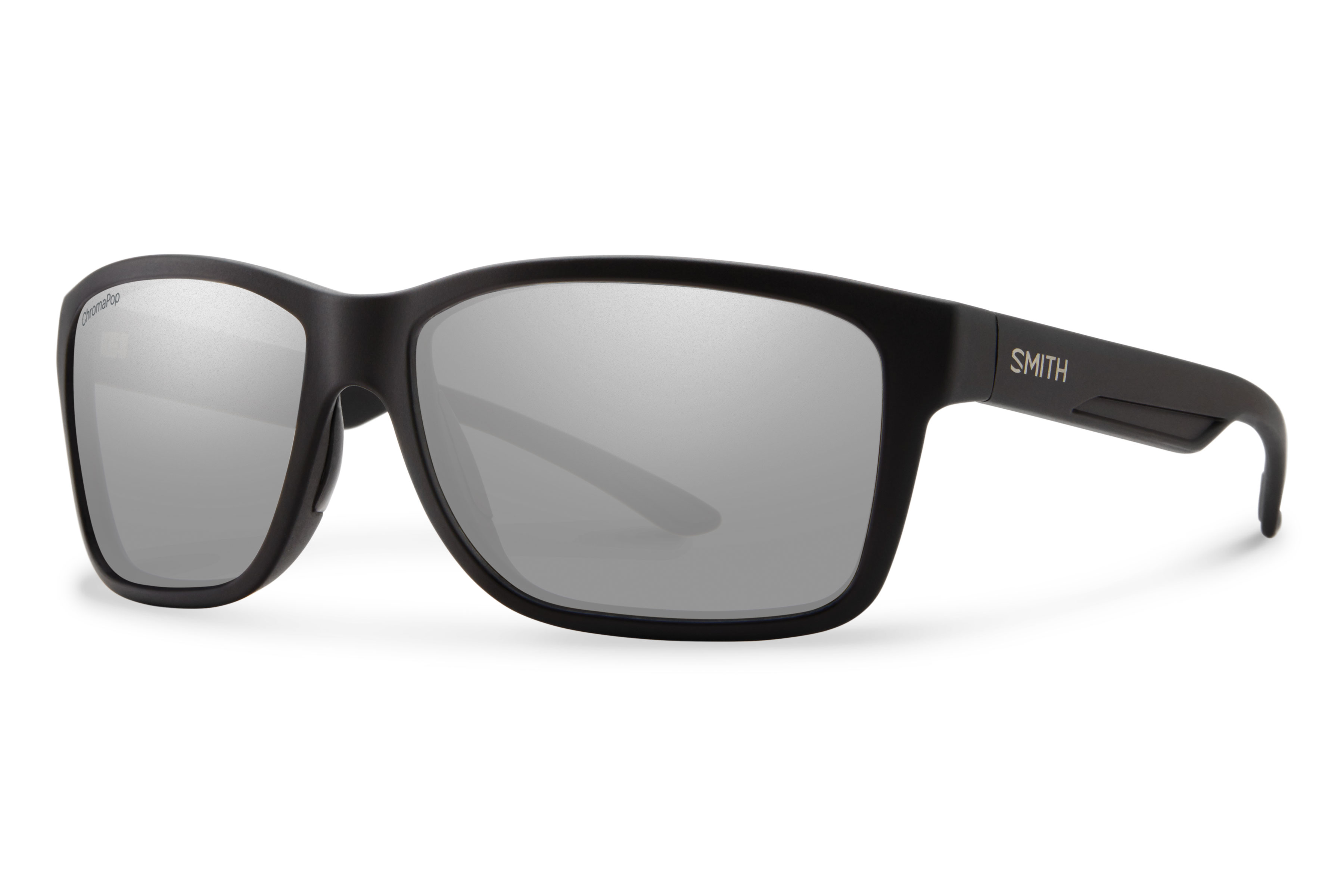 06fca639ba28d Smith Optics Drake Polarized Sunglasses -Matte Black ChromaPop+ Platinum