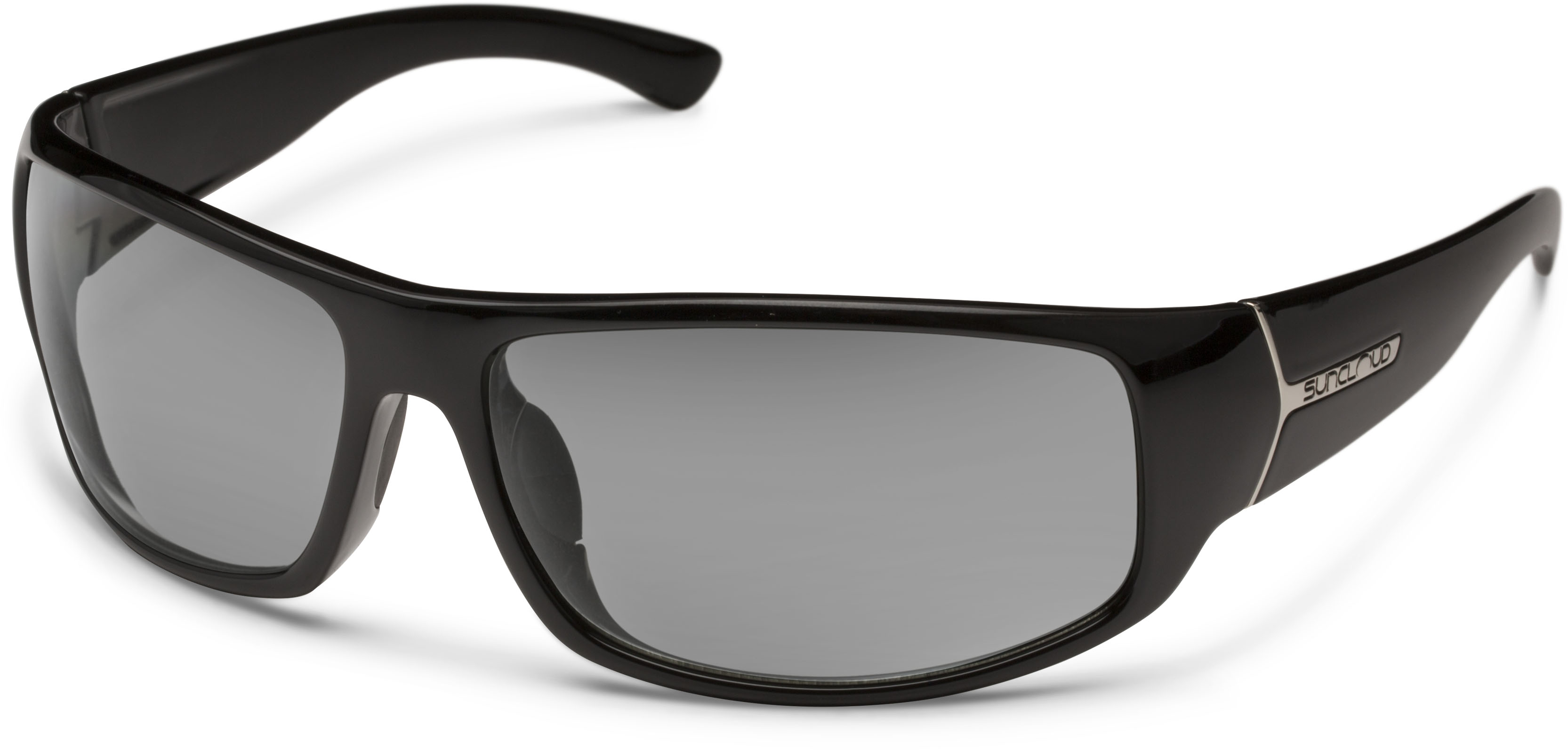 64df689cafd Suncloud Optics Turbine Sunglass Polarized Polycarbonate Lens   Black Gray  Frame
