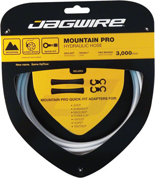 NEW Jagwire Mountain Pro Disc Hose White 3000mm