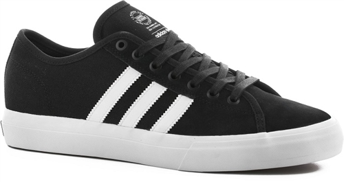 68d4bce8d Adidas Matchcourt RX Lo Shoes Black White Suede Toe