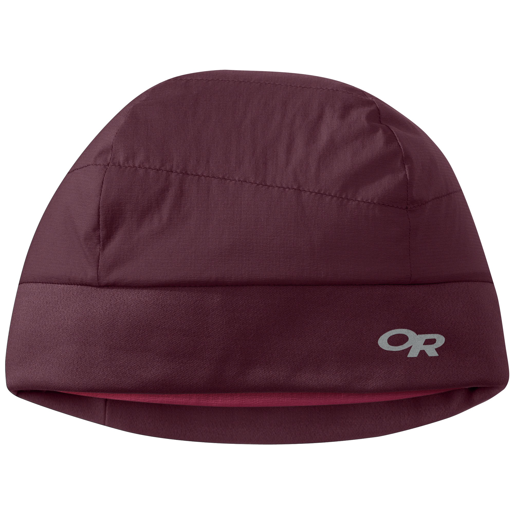 715b46706a8 Details about Outdoor Research OR Ascendant Beanie Pinot Raspberry L XL