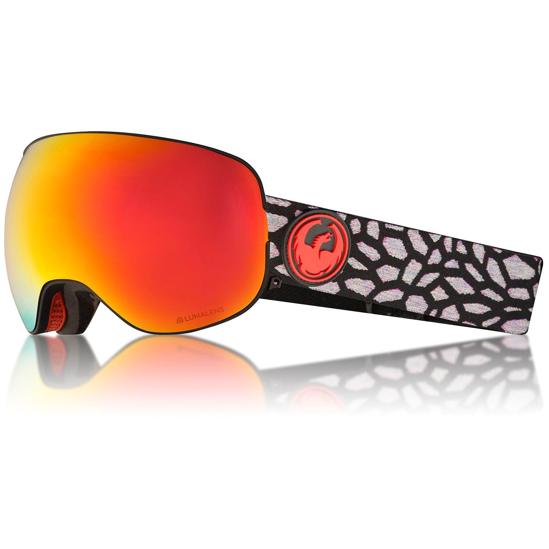 90fe53c8416 Dragon X2 Four Lumalens Snow Goggles Olio Red Ion 886895308830