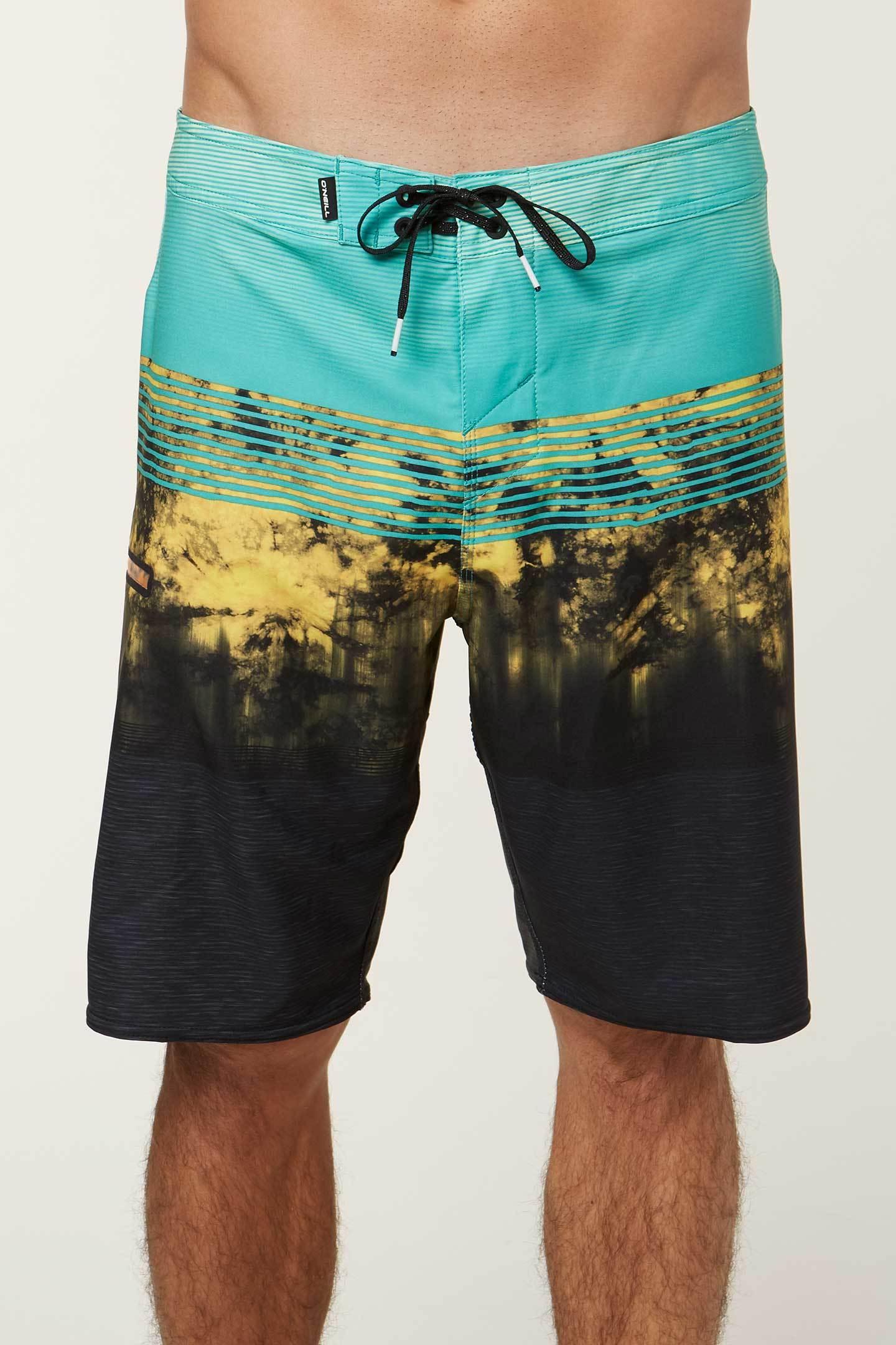 1f2d11e01f Oneill Hyperfreak Boardshorts Mens Aqua   eBay