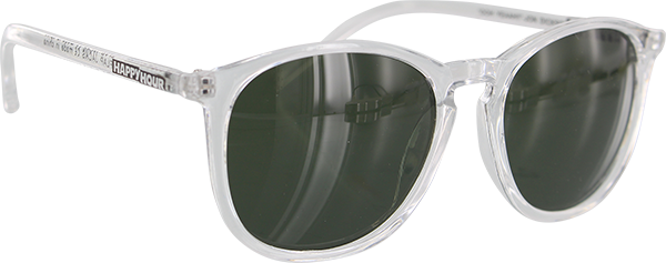 HAPPY HOUR FLAP JACKS SUNGLASSES CLR.GLOSS//G15