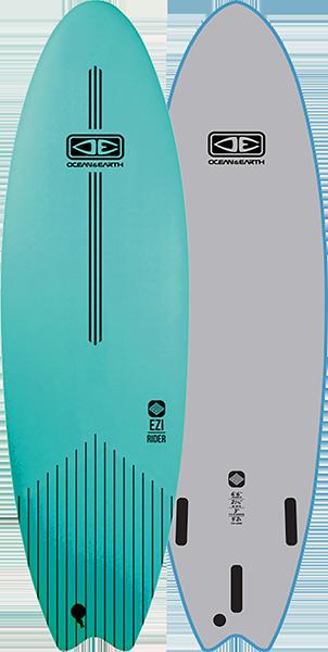 Ocean & Earth Ezi-Rider Tablero Blando 6' 6  Turquesa