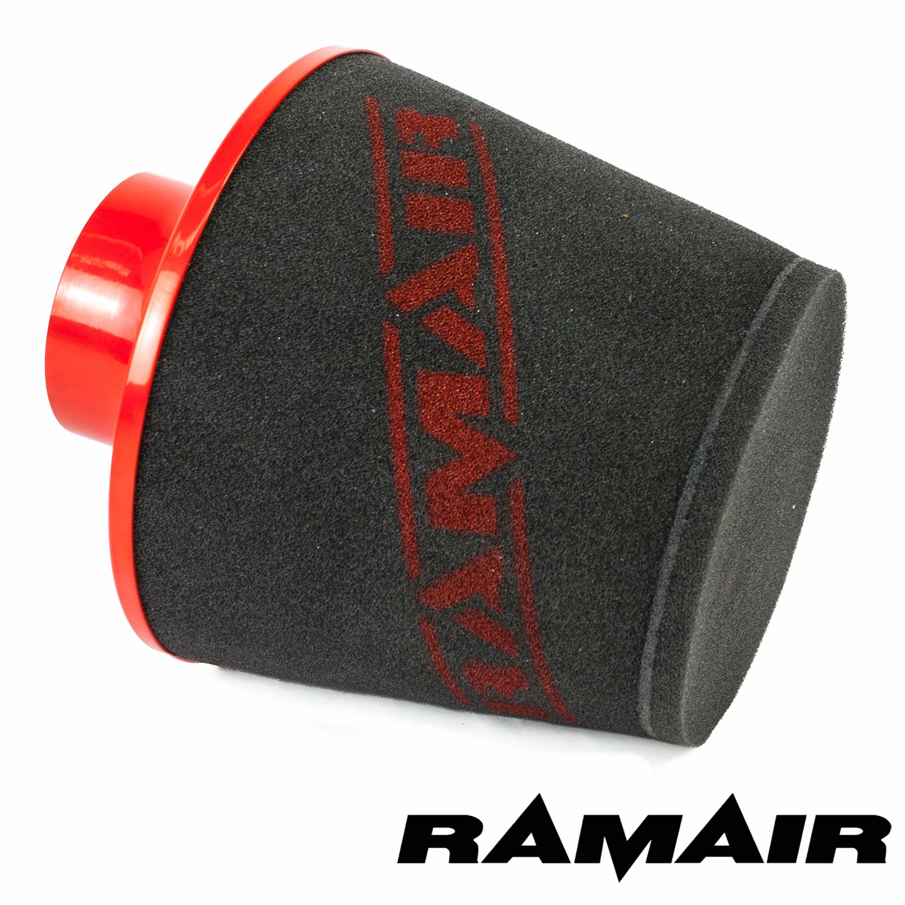 Foam Air Cleaner : Ramair large aluminium base foam air filter induction