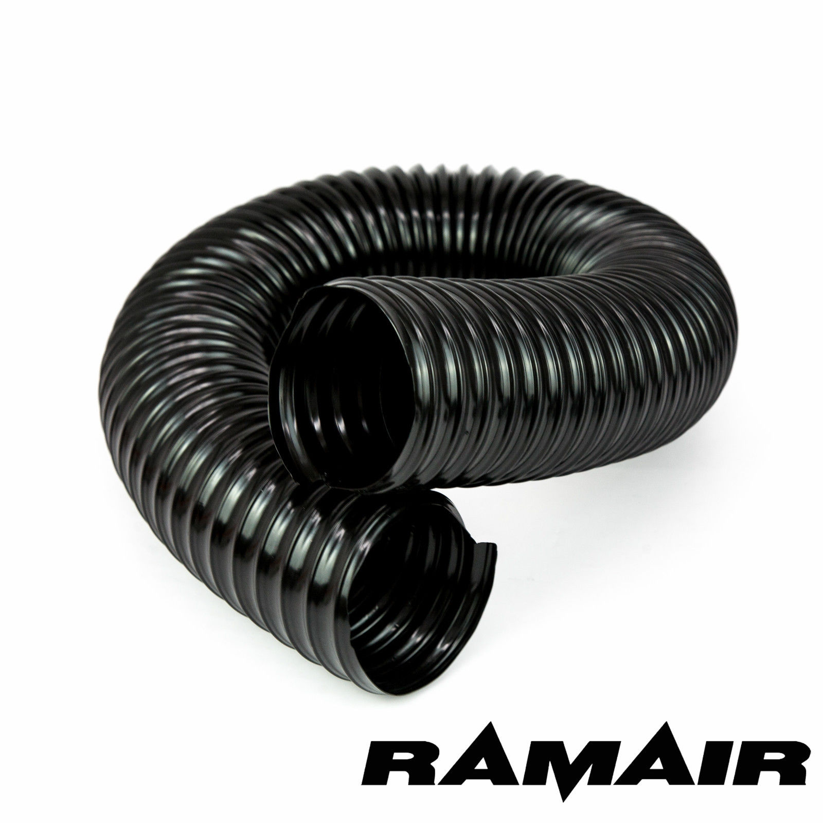 Ramair Pvc Black Flexible Cold Air Ducting Wire Wound