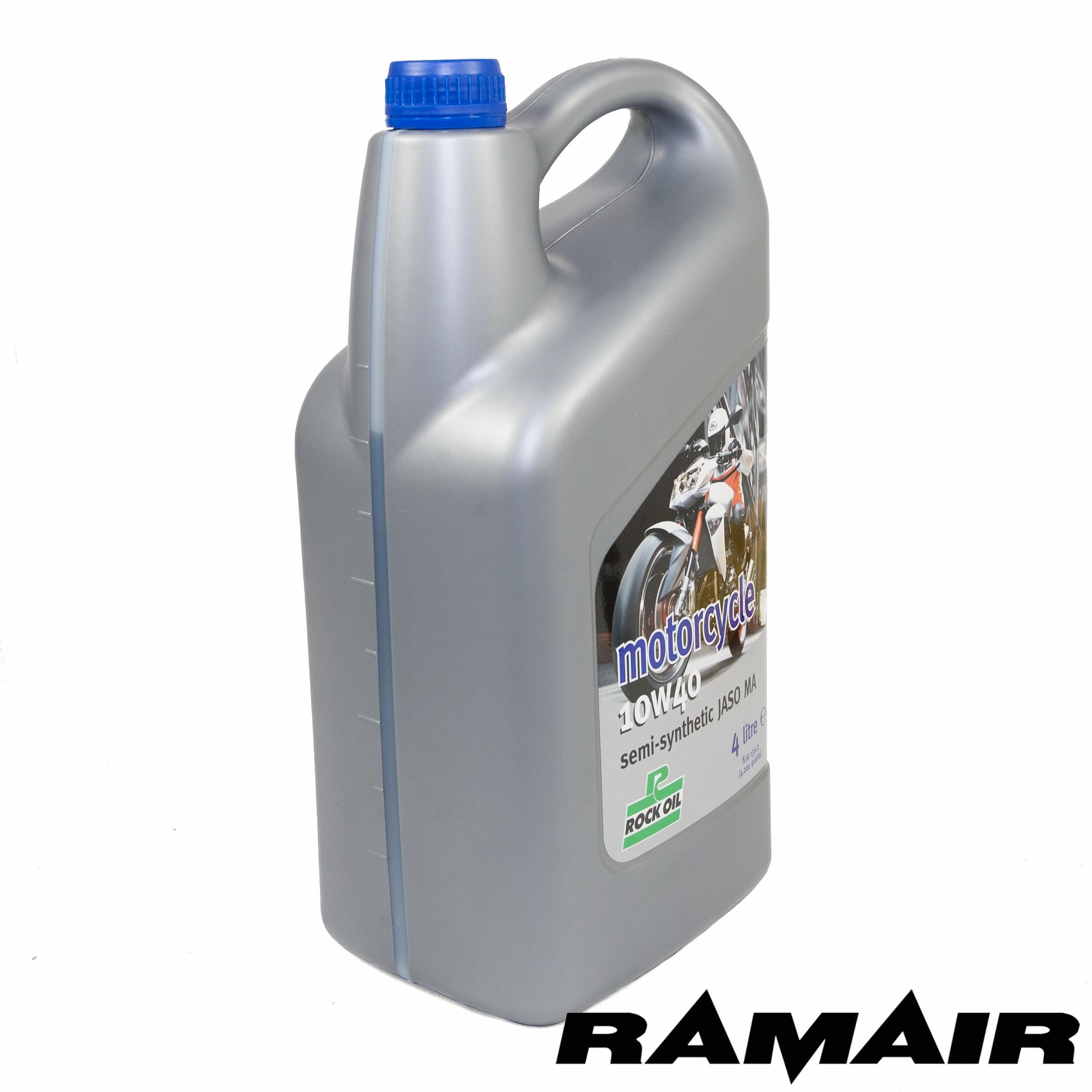 4l rock oil semi synthetic motorcycle bike engine oil 10w for Synthetic vs non synthetic motor oil