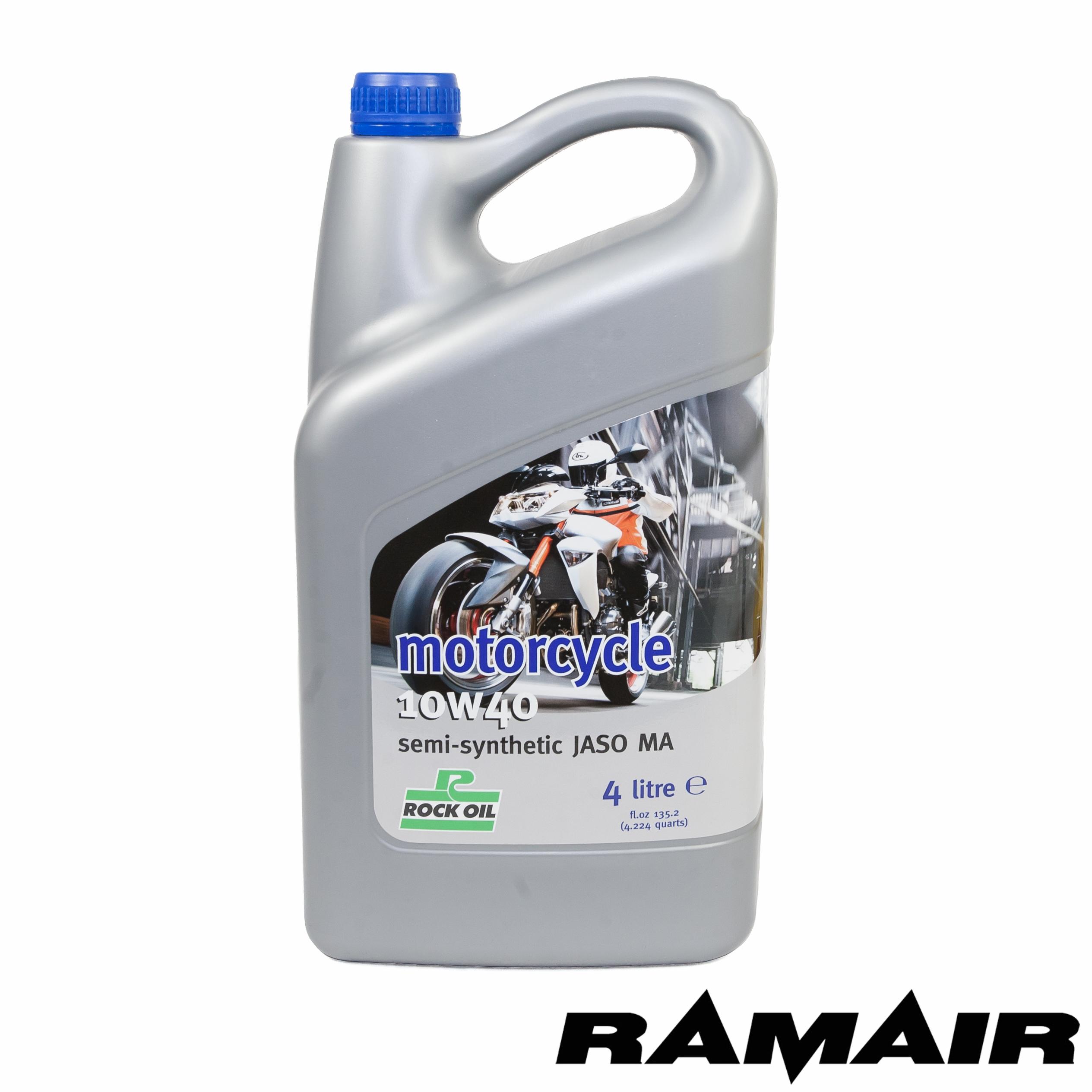 4l Rock Oil Semi Synthetic Motorcycle Bike Engine Oil 10w