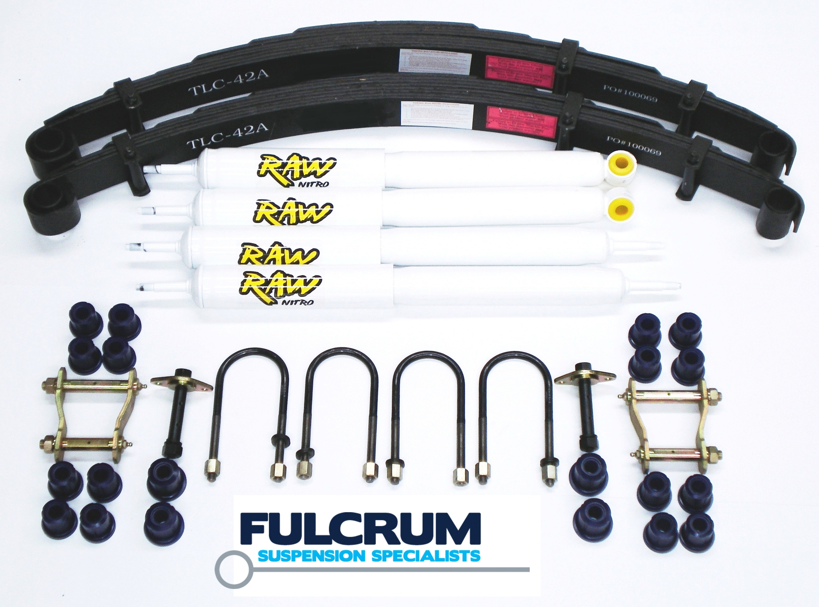 Details about HOLDEN COLORADO RC 08-11 2INCH-50MM SUSPENSION LIFT KIT