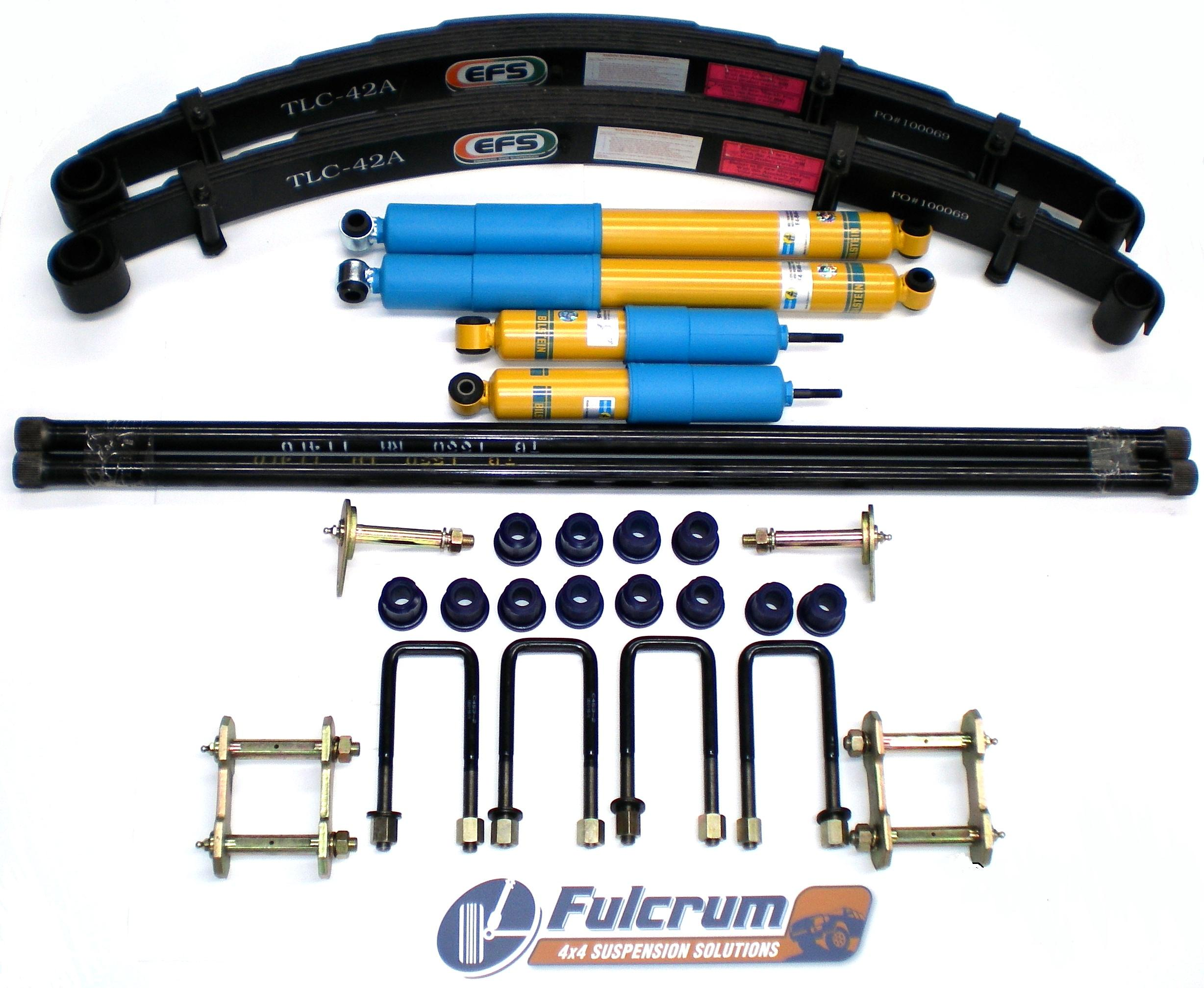 Details about NISSAN NAVARA 4X4 D22 97-ON 50MM BILSTEIN SUSPENSION LIFT KIT