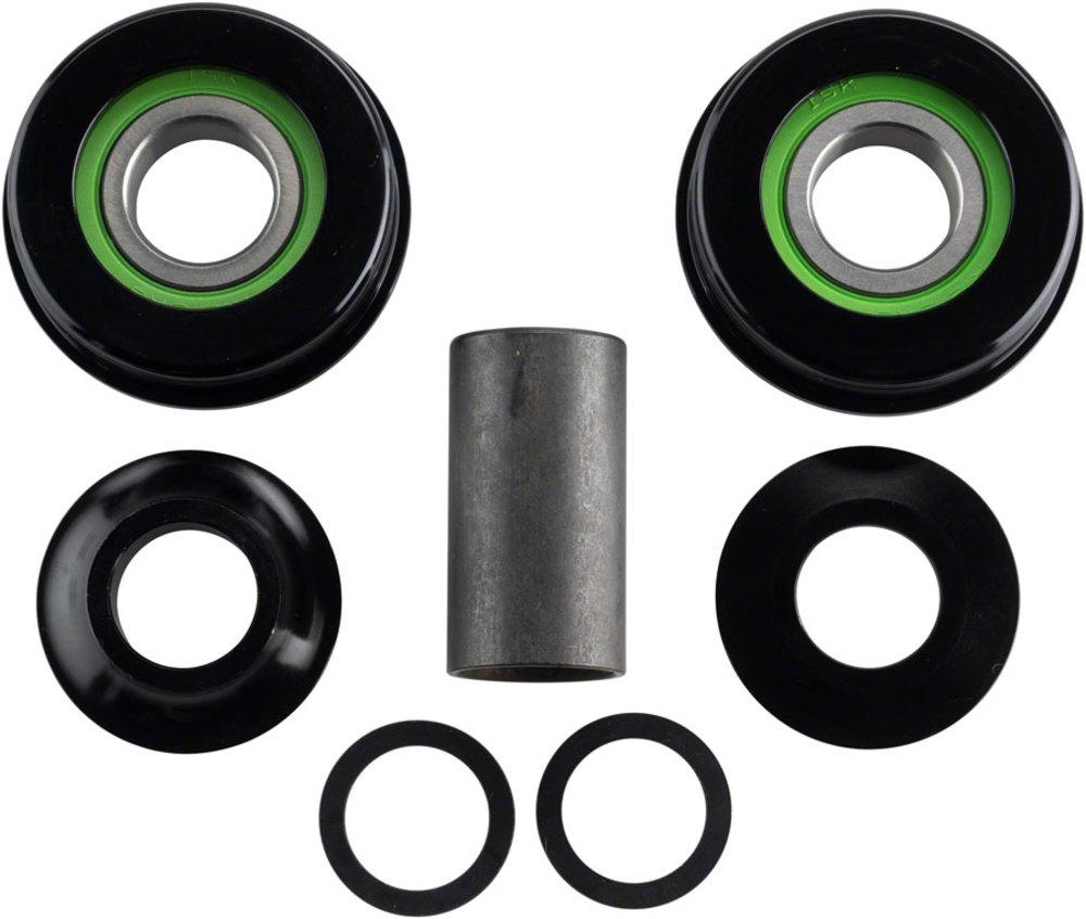 Plus Salt BMX BB Set USA Black 19mm
