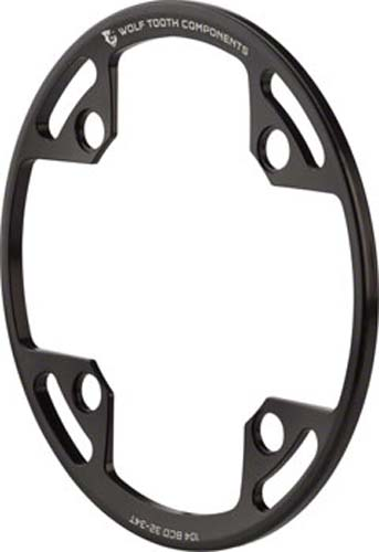 fits 32T Wolf Tooth Components Bash Guard for 104 BCD Cranks 34T Chainrings