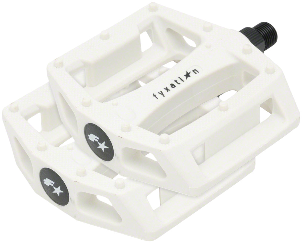 Fyxation Gates PC Pedals White