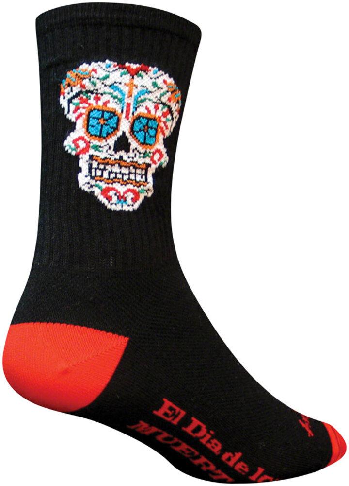 "Socks Crew 6/"" El Dia L//XL Cycling//Running SockGuy"