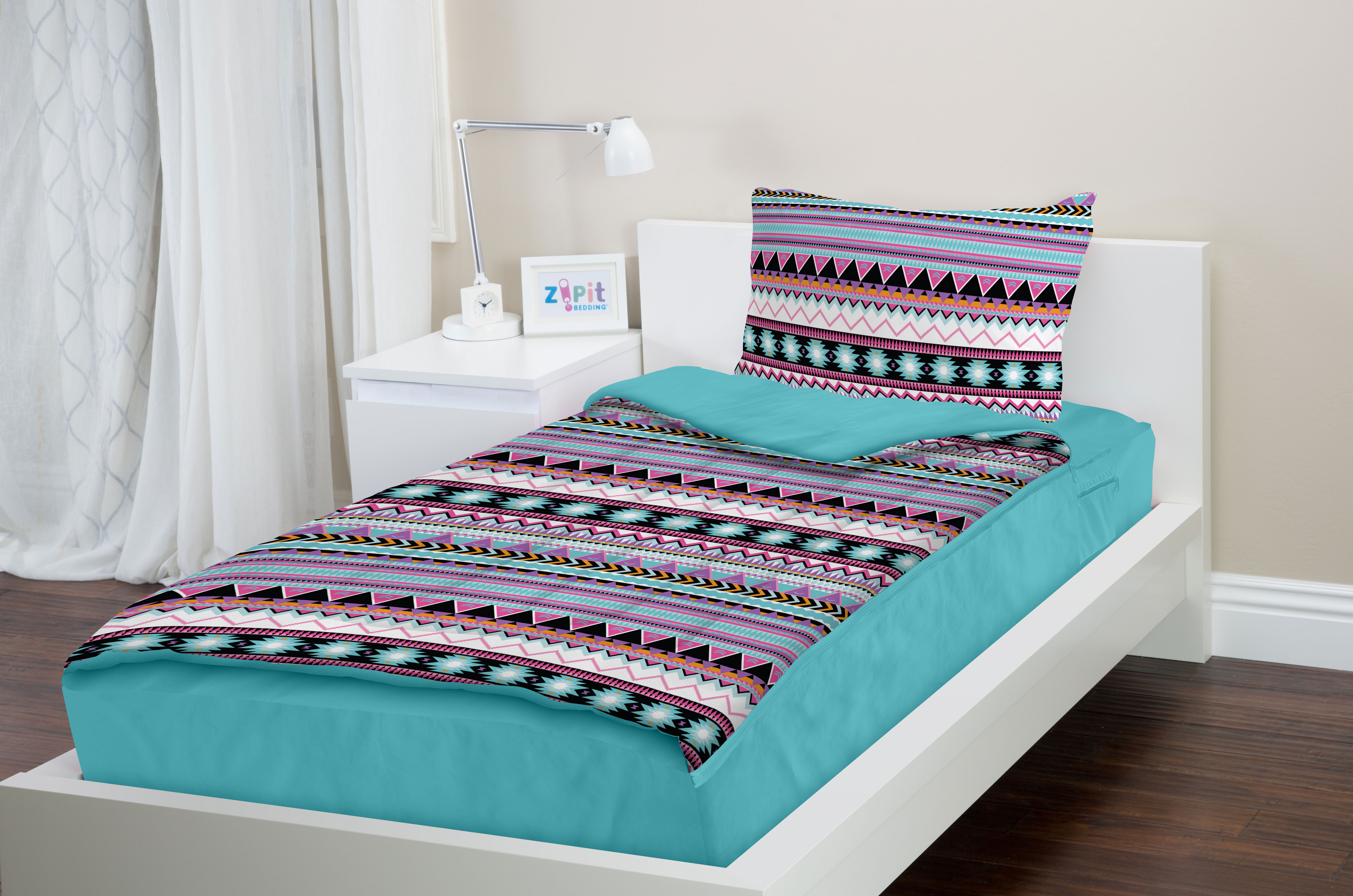 Top Zipit Bedding Set - Zip-Up Your Sheets and Comforter Like a  EU33