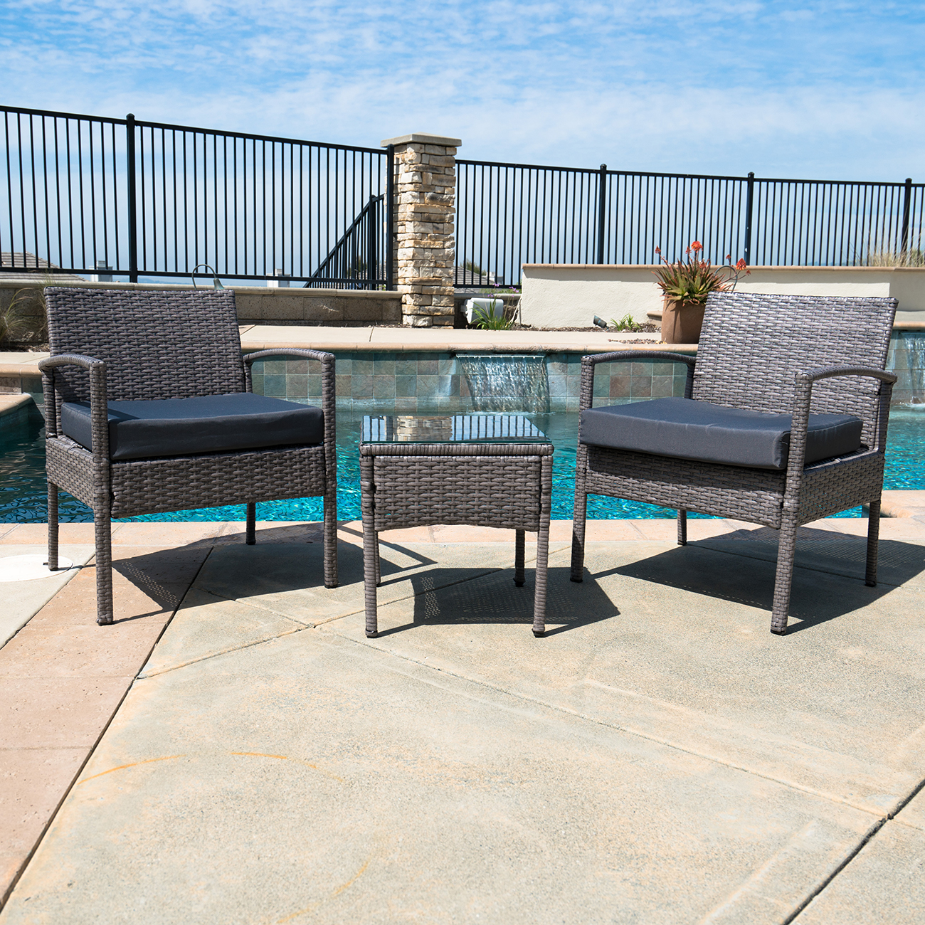 3-PCS-Outdoor-Rattan-Wicker-Patio-Chat-Chairs-amp-Table-Furniture-Set-Lounge thumbnail 9
