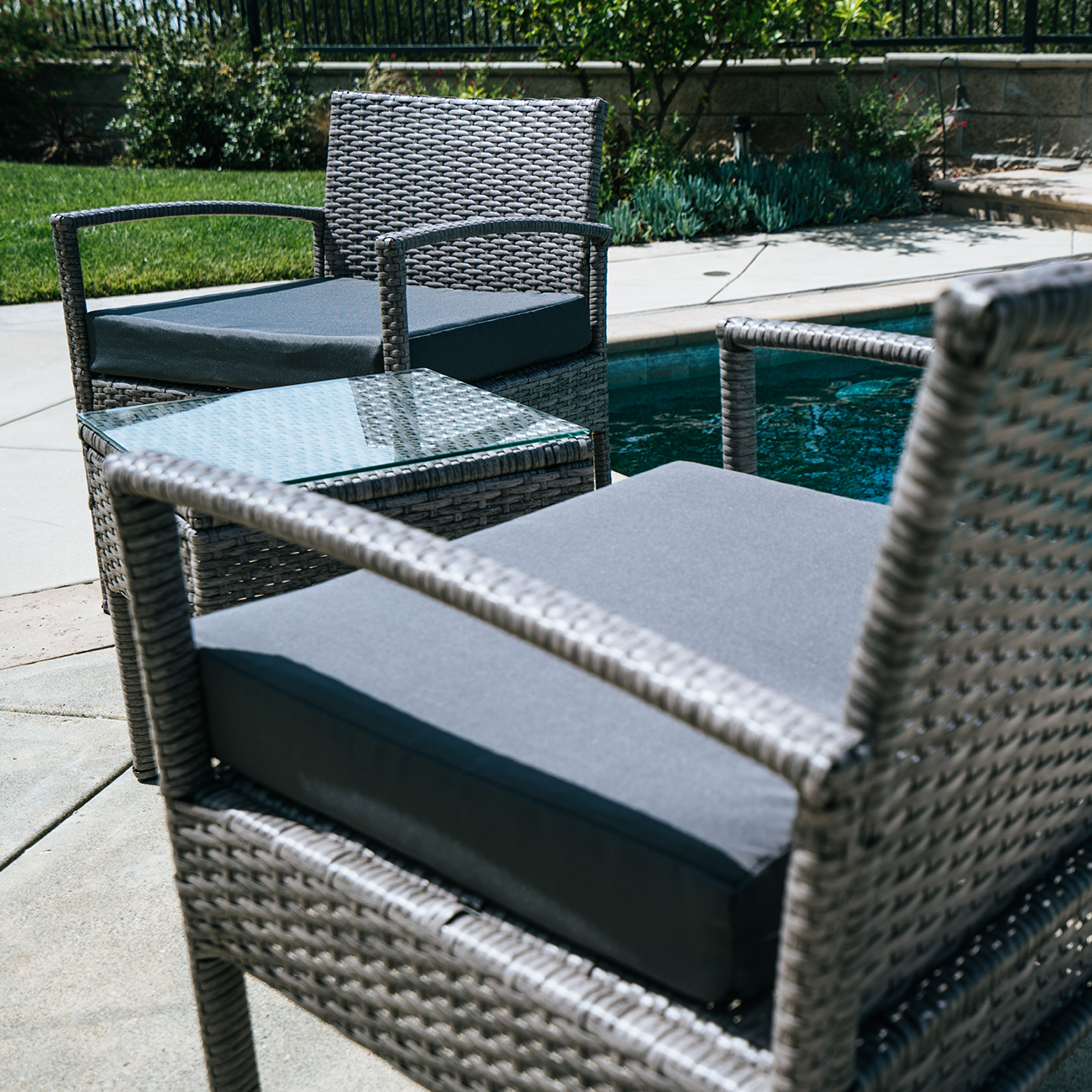 3-PCS-Outdoor-Rattan-Wicker-Patio-Chat-Chairs-amp-Table-Furniture-Set-Lounge thumbnail 12