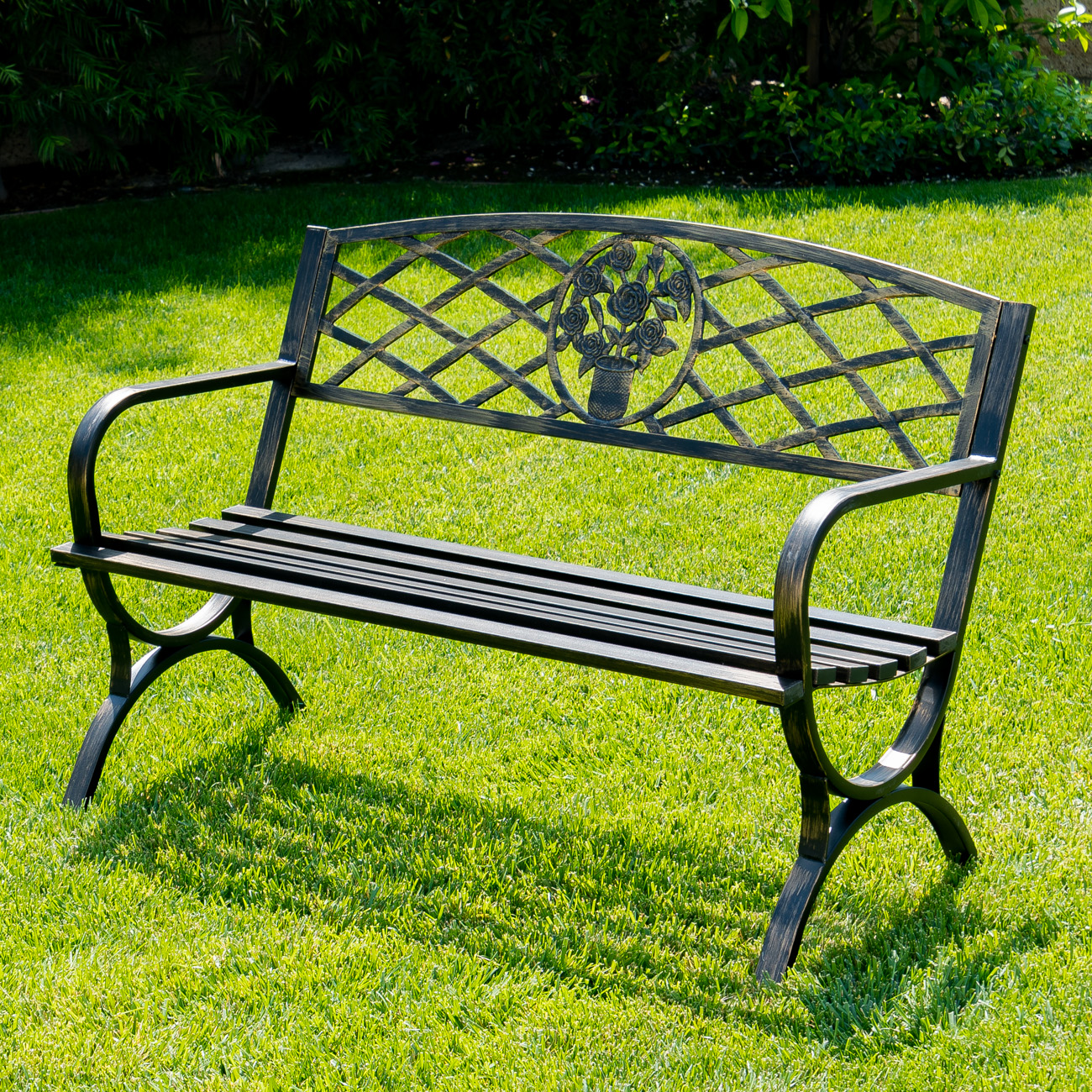 metal outdoor furniture outdoor bench patio chair metal garden furniture deck 30614