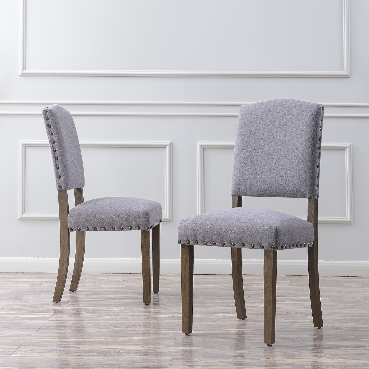 thumbnail 11 - Vintage Dining Chair Set of (2) Contemporary Extra Padded Cushion Seat