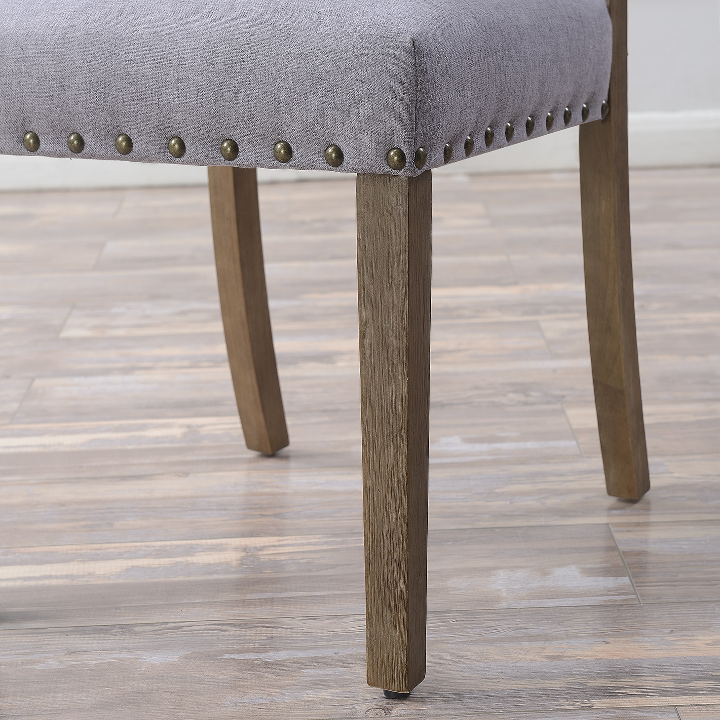 thumbnail 12 - Vintage Dining Chair Set of (2) Contemporary Extra Padded Cushion Seat