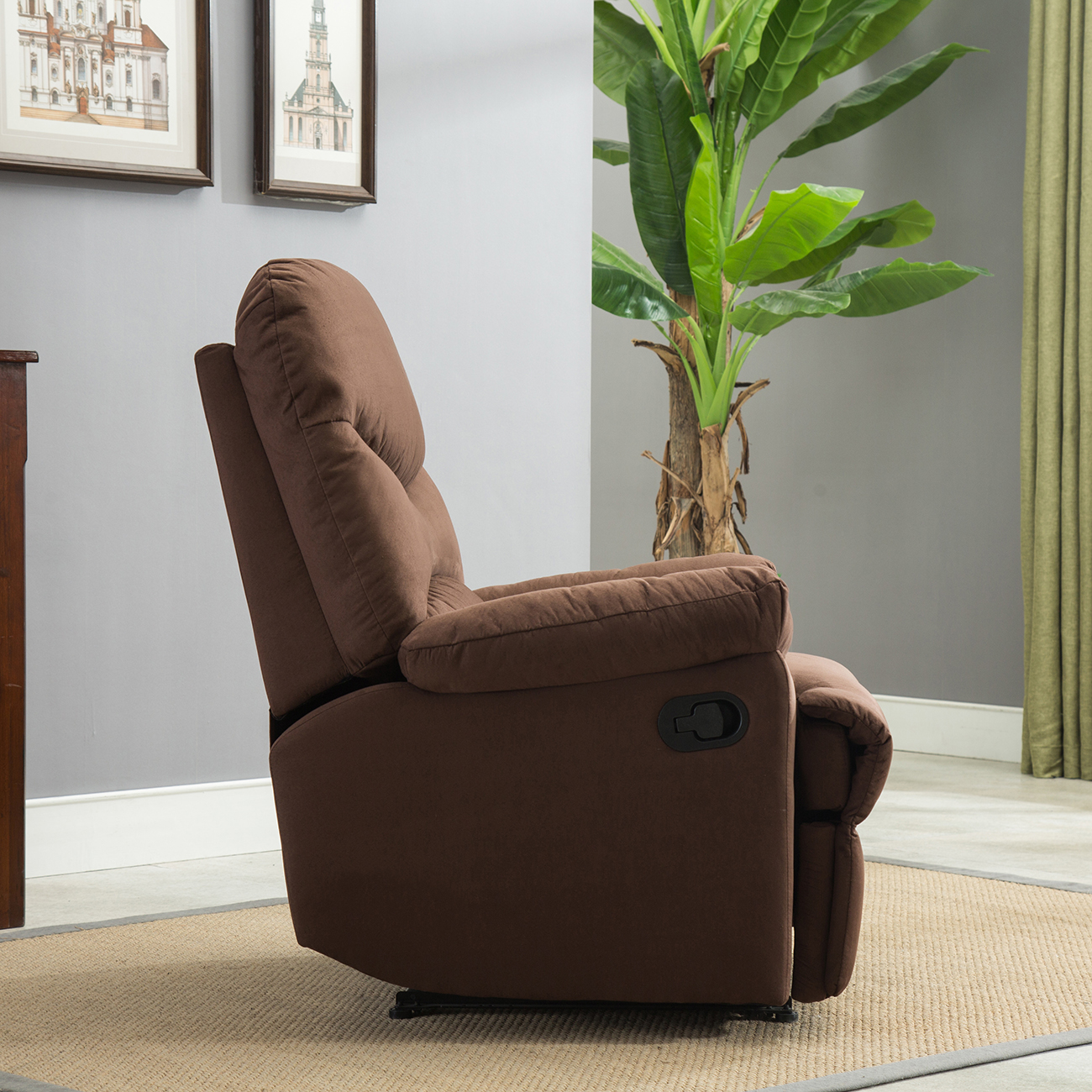 Furniture Living Room Seating Recliners Beige