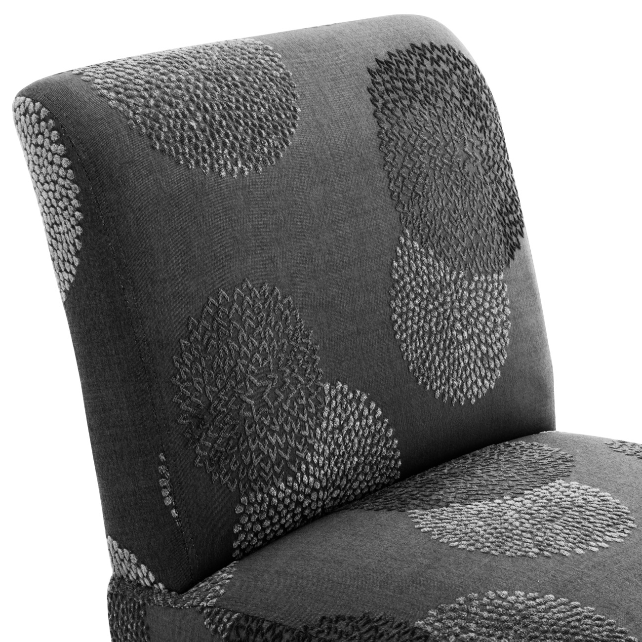 Prime Details About Upholstered Slipper Accent Armless Chair Bedroom Living Room Charcoal Sunflower Spiritservingveterans Wood Chair Design Ideas Spiritservingveteransorg