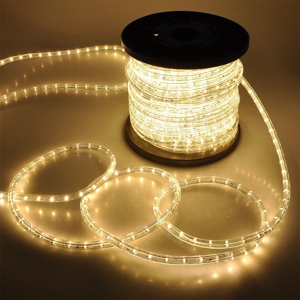 50 100 150 300ft led rope light 110v home party christmas decorative 50 100 150 300ft led rope light 110v aloadofball Gallery