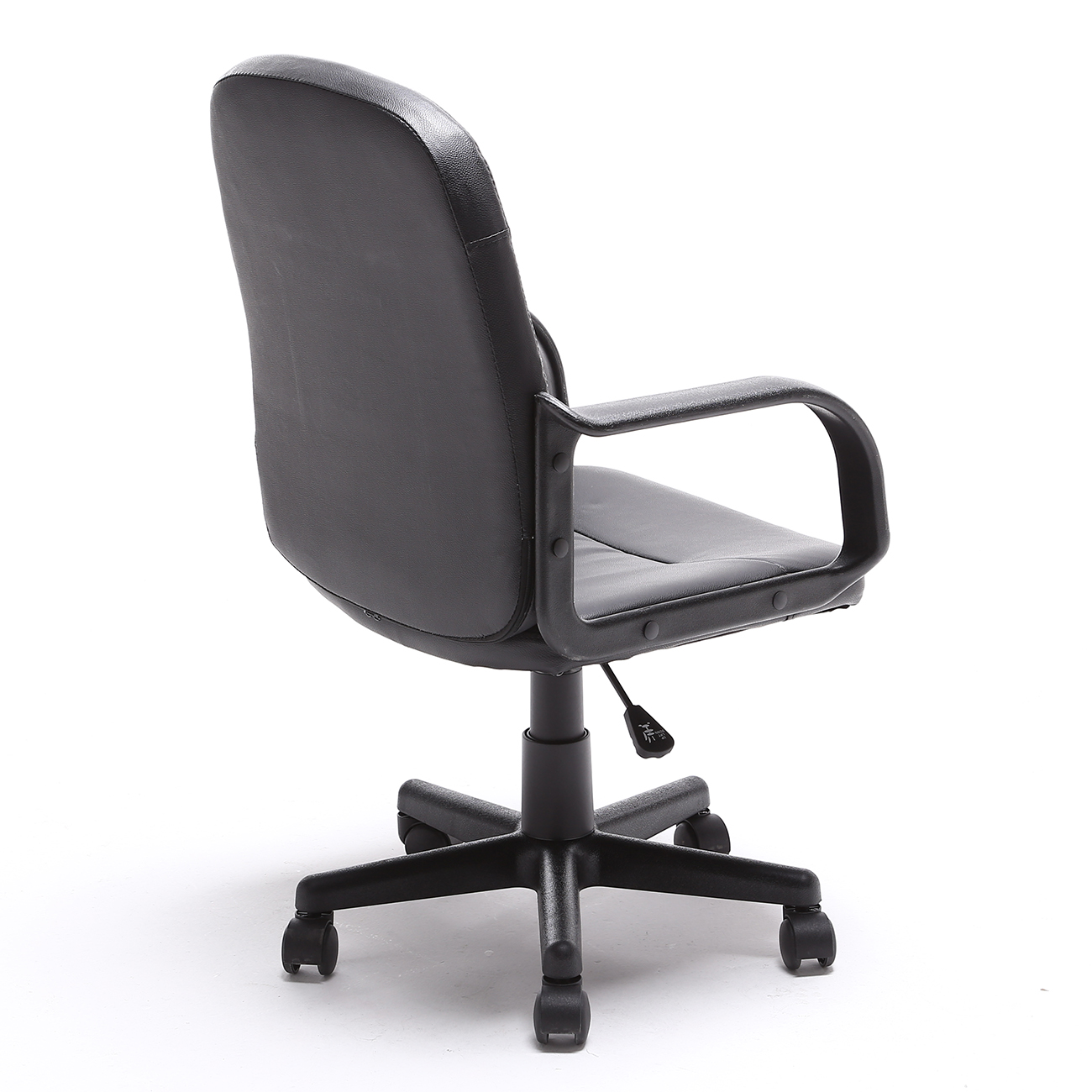 new modern office executive chair pu leather computer desk task hydraulic black ebay. Black Bedroom Furniture Sets. Home Design Ideas