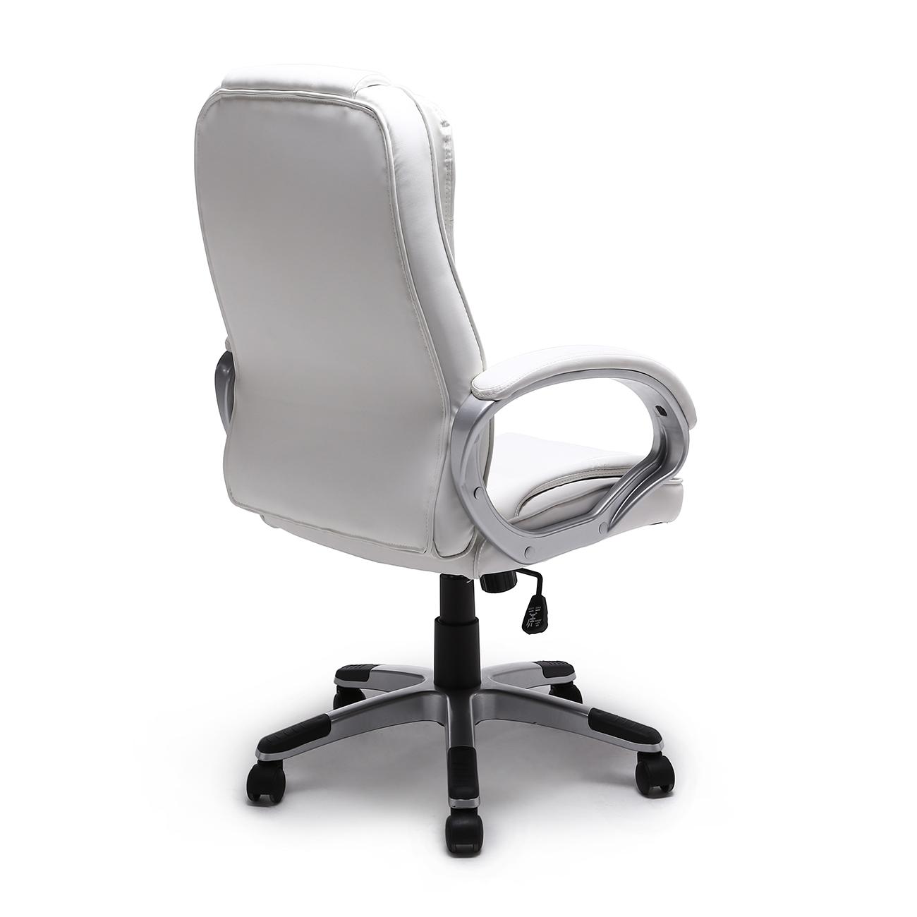 high back pu leather executive ergonomic office chair desk task