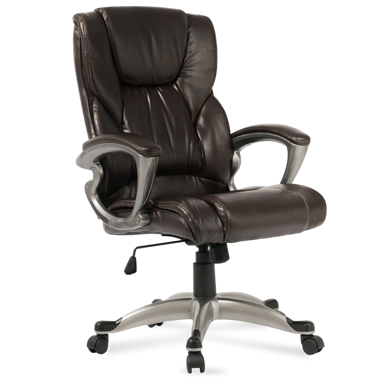 executive office chair high back task ergonomic computer. Black Bedroom Furniture Sets. Home Design Ideas