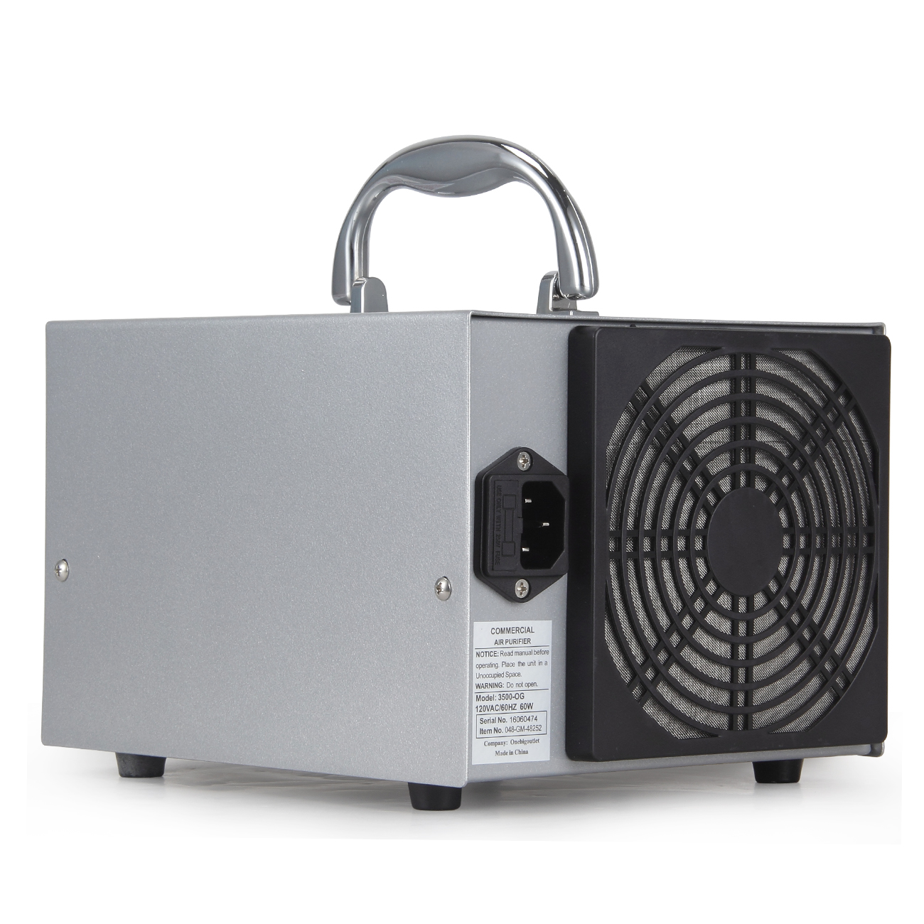 Commercial Industrial Ozone Generator Air Purifier Mold