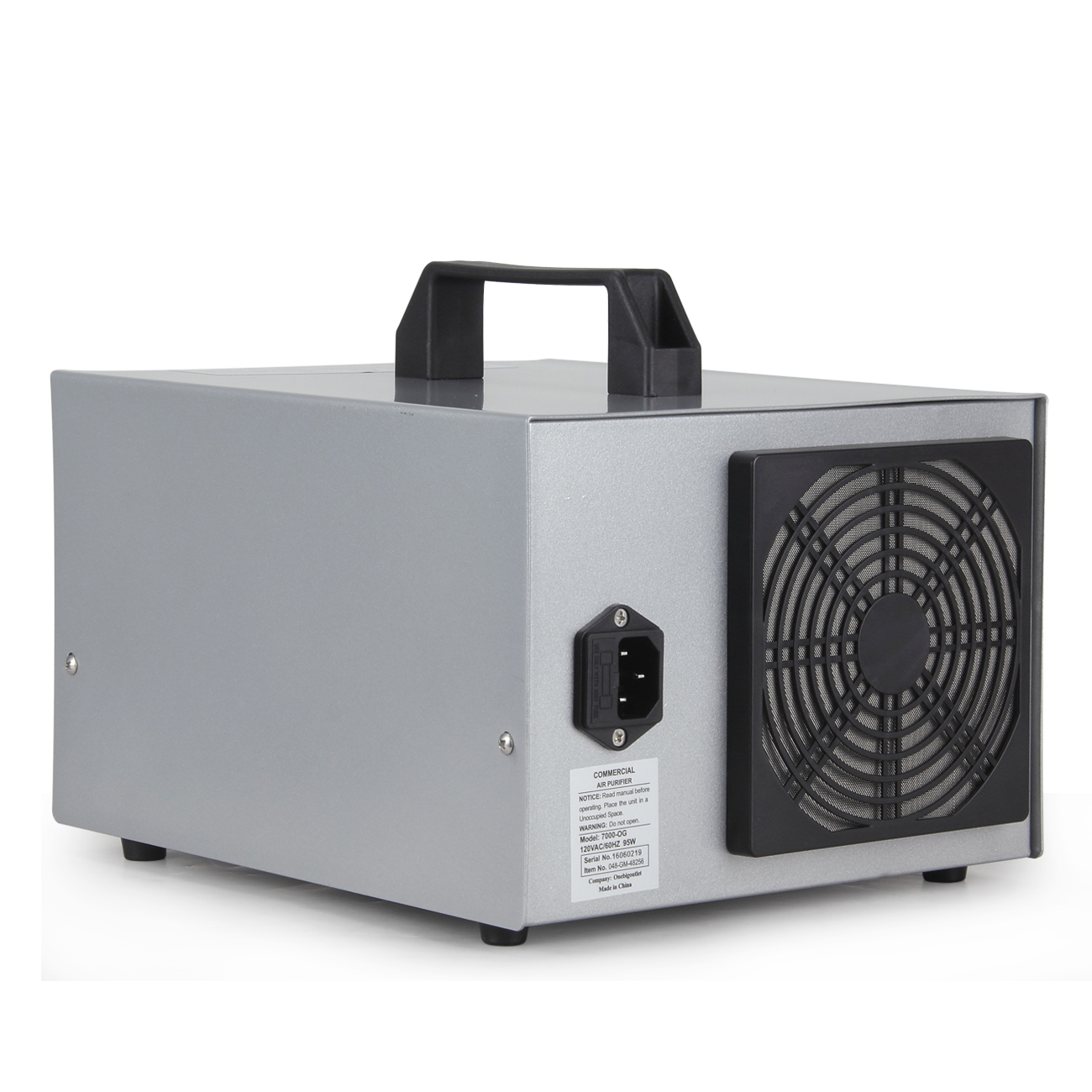 Portable Commercial Air Purifiers : Air purifier ozone generator ionizer clean industrial